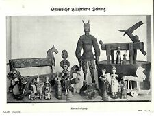 Osterspielsachen aus Eierschalen & Kinderspielzeug  1910