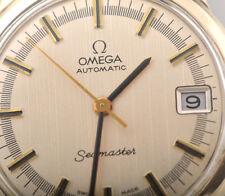 Vintage Omega Automatic Seamaster Calendar 10K GF caliber 563 wristwatch Swiss M