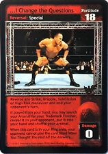 WWE Raw Deal CCG Summer Slam 6.0 I Change the Questions 27/150