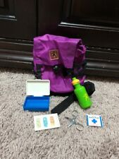 American Girl Backpack Essentials RETIRED PURPLE FIRST AID PLEASANT COMPANY LOT