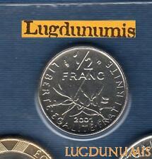 BU 2001 50 centimes Semeuse 2001 BU FDC Pièce Provenant du BU 125000 ex sous sce