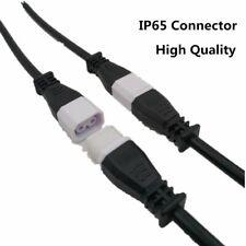 Connector Led Waterproof 2core 2pin Power Cord Strip Wire Waterproof Lighting