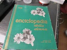 ENCICLOPEDIA DELLA DONNA - 38 VOLUME - FRATELLI FABBRI EDITORI - 13/07/1963