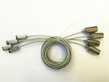 Stainless Steel Suspension Kit Hanging Wire for LED Panel Light 4pcs/Set 3M