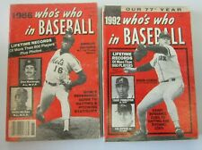 Who's Who in Baseball Dwight Gooden Roger Clemens all 2 different (1986 + 1992)