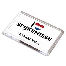 FRIDGE MAGNET - I Love Spijkenisse - Netherlands