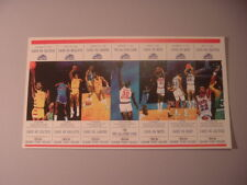 1993-94 Cleveland Cavaliers NBA Basketball Commemorative Limited Ticket Sheet