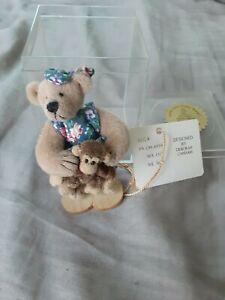 Little Gems Huggle Miniature Bear with Monkey Deb Canham