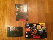 Killer Instinct Complete Copy Super Nintendo SNES Box Game Manual