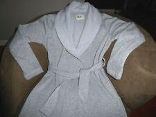 UGG Duffield II Shawl Collar Robe Seal Heather Grey Spa Size Small S New 1095612