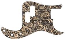 P Bass Precision Pickguard Custom Fender 13 Hole Guitar Pick Guard Paisley BK-CR