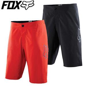 Fox Attack Ultra MTB Baggy Cycling Shorts 2015 - Black, Red - 36 38