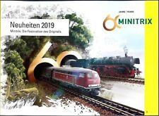 TRIX 2019 Katalog Minitrix Neuheiten 1:160