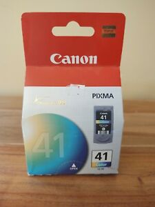 Genuine Canon 41 Pixma CL-41 Color Ink Cartridge OEM New Sealed
