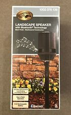 """Hampton Bay Bluetooth 16.9"""" Outdoor Weatherproof Landscape Speaker NEW!"""