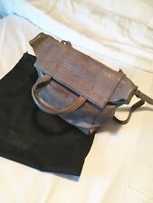 Alexander WANG Grigio Clutch sopra la borsa a Tracolla Designer