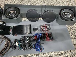 2019+ 5th Gen RAM Audio Upgrade. JL 10 TW3 Subwoofers, Amps, DSP, Speakers.