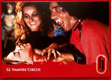 HAMMER HORROR - Series Two - VAMPIRE CIRCUS - Card #52 - Strictly Ink 2010