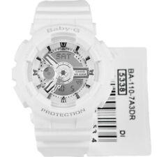 Casio Baby-G Womens Watch BA110-7A3  BA-110-7A3DR White Digital-Analog