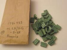 1786433 PHOENIX - QTY 39 - IC2,5/5-G-5,08 NEW