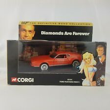 Corgi #02101 Ford Mustang Mach 1 Diamonds Are Forever 007 Mint in Box 2001
