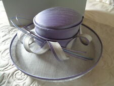 WHITELEY LILAC AND SILVER GREY WEDDING / RACES HAT