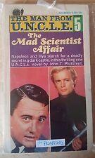 "Vintage Books - The Man From U.N.C.L.E. ""The Mad Scientist Affair"" #5 1st print"