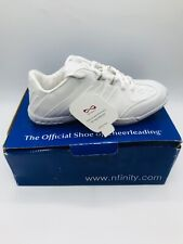 Nfinity Game Day Cheerleader shoes US 7 white NF-1009-0000 Girls Women's