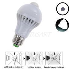 5W Lampadina E27 Luce LED Bianco Movimento Sensore Illuminazione Interno Casa