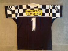 Rugby à XV Maillot Porté Chateauneuf du Pape Orange #1 Match Shirt Worn France