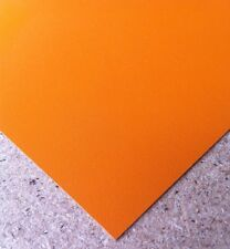 Formica Type laminate sheet Orange 600mm x 300mm Laminate is 0.8mm thick
