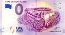 SLOVAQUIE Častá, Hrad Červený Kameň, 2018, Billet 0 € Souvenir
