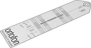 Ortofon Turntable Record Player Stylus Styli Cartridge Alignment Protractor