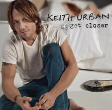 KEITH URBAN (GET CLOSER CD - SEALED + FREE POST)