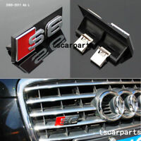 NEW AUDI S6 Grill Badge Front Emblem ABS Chrome Grille fit 2005-2011 A6 A6L