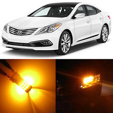 Alla Lighting Front Turn Signal Light Amber LED Bulb for 2006~2010 Hyundai Azera