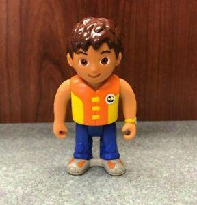 "Dora the Explorer Go Diego 3.5"" Action Figure w/Life Jacket - Sea Water Ocean"
