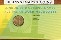 2012 $1 London Olympic Games Australian gold medallists - men's sailing