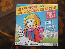 SP 4 CHANSONS AVEC TES COPAINS DE LA TELE Vol.2 / CBS - SFC 17102