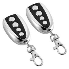 2 x Garage Door Remote Control Key Fob 433.92mhz Wireless Duplicator Universal