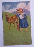 """""""Geburtstag, Kinder, Mode, Wiese, Rehe, Futter""""  1912 ♥"""