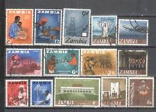 S6670 - ZAMBIA 1968 - LOTTO TEMATICI DIFFERENTI DEL PERIODO - VEDI FOTO