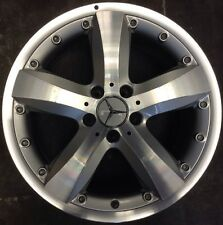Mercedes SLK280 2007 65489 aluminum OEM wheel rim 18 x 8.5 Rear