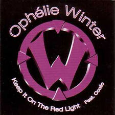 CD single Ophelie WINTER Keep it on the red light Promo 1-TRACK CARD SLEEVE