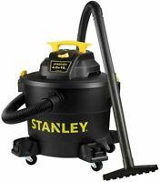 Stanley 10 Gallon 4 HP Wet/Dry Shop  Garage Vacuum