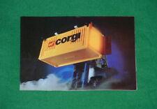 CORGI TOYS METTOY Catalogue TV/Sci-fi Cars Trucks etc 1981 MINT/NEW