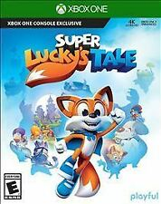 Super Lucky's Tale (Microsoft Xbox One, 2017) Kids video game , Similar to Spyro