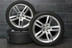 Original Audi A4 8K B8 Llantas 18 Pulgadas Ruedas de Verano 245 40 r18 93Y Top