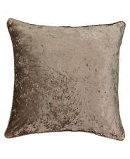 """Beautyrest Brown Medallion Sandrine Solid Faux Velvet Euro Pillow Sham 26""""x 26"""""""