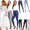 JUSTYOUROUTFIT WOMENS HIGH WAISTED STRETCHY SKINNYJEANS LADIES JEGGINGS 6 TO 22